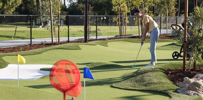 Perth mini golf course